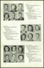1945 Northeast High School Yearbook Page 50 & 51