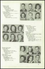 1945 Northeast High School Yearbook Page 52 & 53