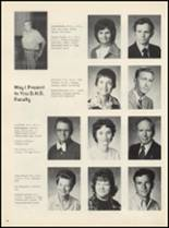1975 Drumright High School Yearbook Page 14 & 15