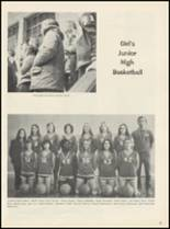1975 Drumright High School Yearbook Page 58 & 59