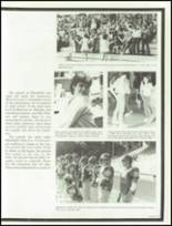 1984 Marshfield High School Yearbook Page 50 & 51