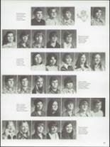 1975 River High School Yearbook Page 70 & 71