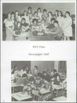 1975 River High School Yearbook Page 110 & 111