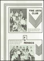 1980 Montello High School Yearbook Page 50 & 51