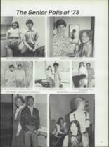 1978 Rushville Consolidated High School Yearbook Page 84 & 85
