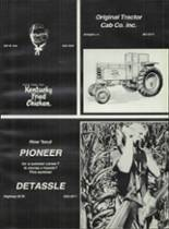 1978 Rushville Consolidated High School Yearbook Page 168 & 169