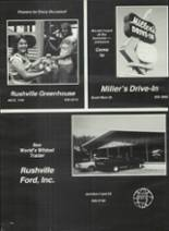 1978 Rushville Consolidated High School Yearbook Page 180 & 181