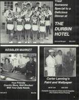 1978 Rushville Consolidated High School Yearbook Page 184 & 185