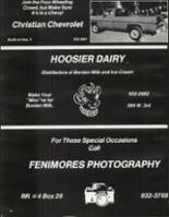 1978 Rushville Consolidated High School Yearbook Page 188 & 189