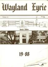 1988 Yearbook Wayland-Cohocton High School