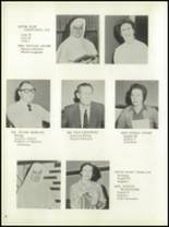 1958 Central Catholic High School Yearbook Page 12 & 13