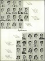 1958 Central Catholic High School Yearbook Page 20 & 21