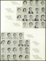 1958 Central Catholic High School Yearbook Page 22 & 23
