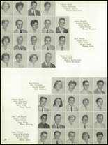 1958 Central Catholic High School Yearbook Page 24 & 25