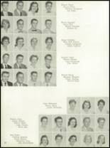 1958 Central Catholic High School Yearbook Page 26 & 27