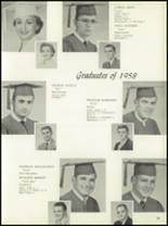 1958 Central Catholic High School Yearbook Page 28 & 29