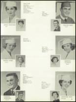 1958 Central Catholic High School Yearbook Page 44 & 45