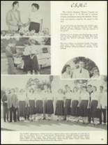 1958 Central Catholic High School Yearbook Page 56 & 57