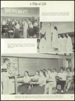 1958 Central Catholic High School Yearbook Page 58 & 59
