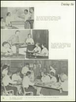 1958 Central Catholic High School Yearbook Page 70 & 71
