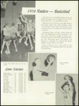 1958 Central Catholic High School Yearbook Page 82 & 83