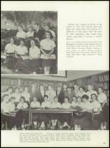 1958 Central Catholic High School Yearbook Page 100 & 101