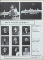 1992 Nestucca Union High School Yearbook Page 24 & 25