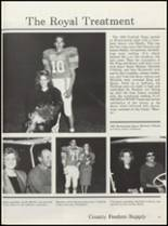 1990 Osceola High School Yearbook Page 54 & 55