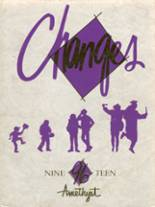 1996 Yearbook Deering High School