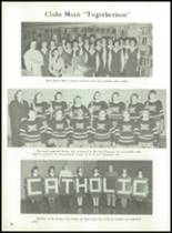 1962 Muskegon Catholic Central High School Yearbook Page 76 & 77