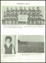 1962 Muskegon Catholic Central High School Yearbook Page 82 & 83