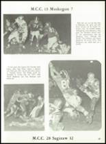 1962 Muskegon Catholic Central High School Yearbook Page 90 & 91