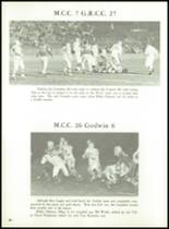 1962 Muskegon Catholic Central High School Yearbook Page 92 & 93