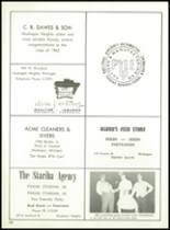 1962 Muskegon Catholic Central High School Yearbook Page 142 & 143