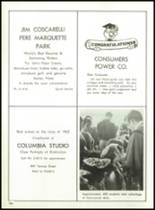 1962 Muskegon Catholic Central High School Yearbook Page 158 & 159