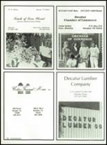 1990 Decatur High School Yearbook Page 172 & 173
