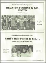 1990 Decatur High School Yearbook Page 180 & 181