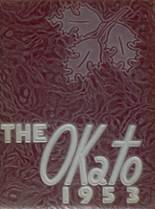 1953 Yearbook Oconto High School