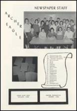 1961 Archer High School Yearbook Page 40 & 41