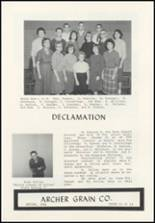 1961 Archer High School Yearbook Page 42 & 43