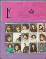 1991 Albuquerque High School Yearbook Page 106 & 107
