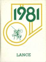 1981 Yearbook St. Joseph's High School