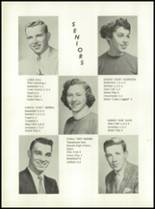 1957 Casco High School Yearbook Page 10 & 11