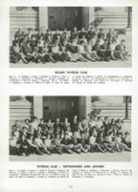 1962 Cranston High School East Yearbook Page 116 & 117