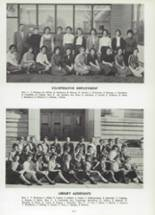 1962 Cranston High School East Yearbook Page 120 & 121