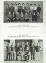 1962 Cranston High School East Yearbook Page 154 & 155