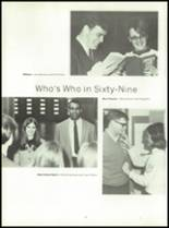 1969 Connersville High School Yearbook Page 20 & 21