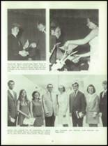 1969 Connersville High School Yearbook Page 36 & 37