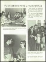 1969 Connersville High School Yearbook Page 38 & 39