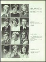 1969 Connersville High School Yearbook Page 128 & 129